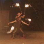 Duo-Feuershow Geburtstag Schneeberg